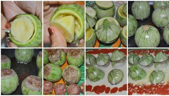 Dolma Courgettes Farcies