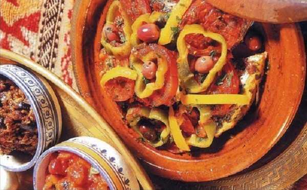 Pageot aux tomates et poivrons