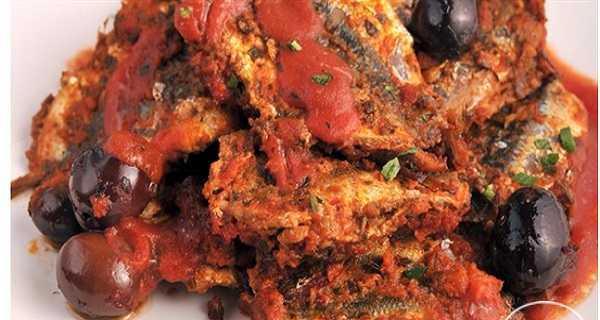Sardines en sauce rouge (chtitha)