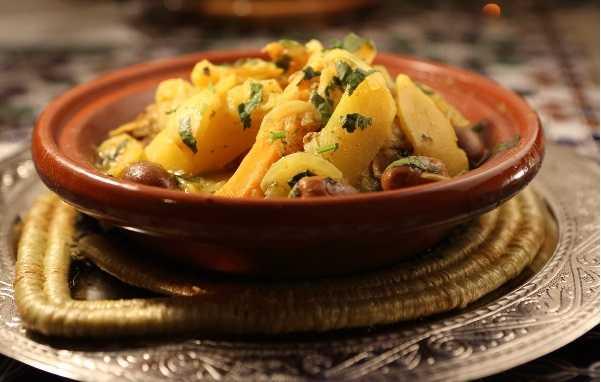 Tajine batata ou zitoune