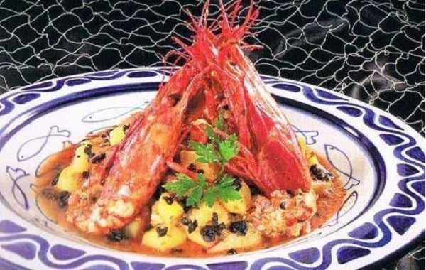 Tajine de Crevettes Royales