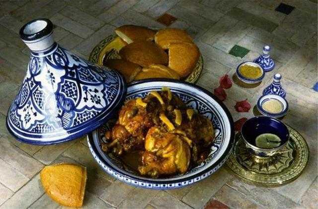 Tajine de poulet Mqalli