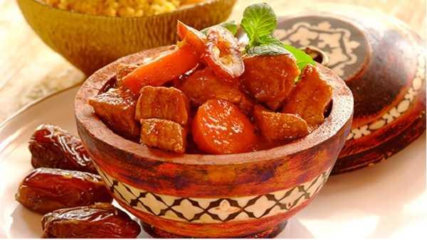 Tajine de viande aux fruits secs