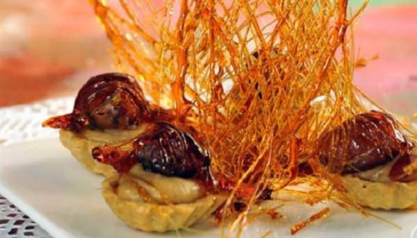 Tartelettes aux fruits secs