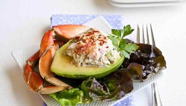Avocats au crabe