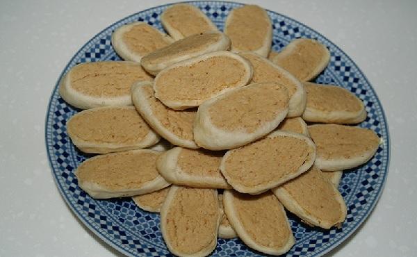 Babouches aux cacahouètes