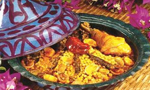Barkoukech de couscous