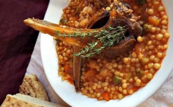 Berkoukes aux légumes et viande
