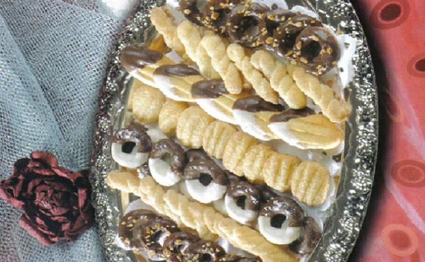 Biscuits au chocolat et noix de coco