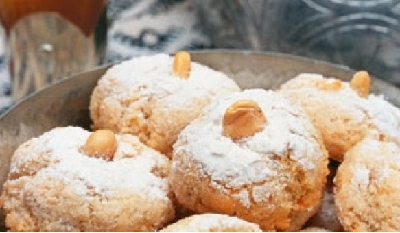 Bouchées Marocains aux amandes