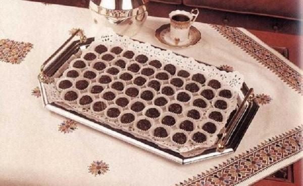 Boules aux granulés de chocolat