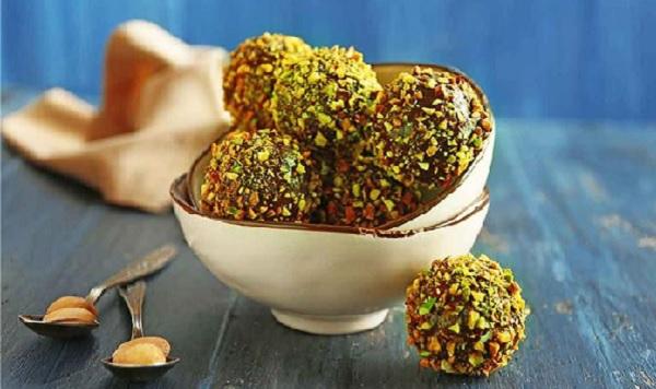 Boules aux pistaches