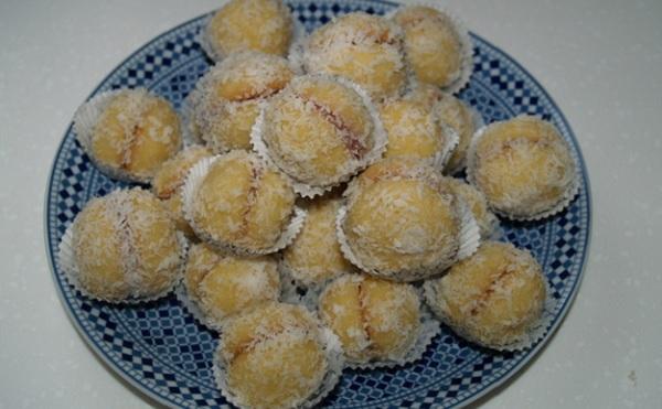 Boules coco ou Gâteau Richbond