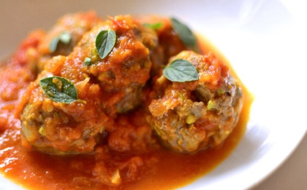 Boulettes de sardine à la sauce tomate