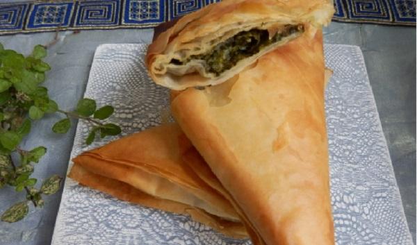 Bourek bsebnekh- brik aux épinards