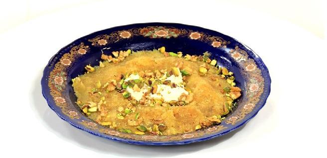 Bouza aux pistaches Tunisienne