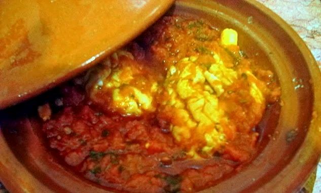 Cervelle en sauce rouge