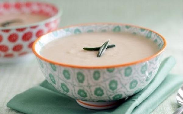 Chorba de blé concassé au lait