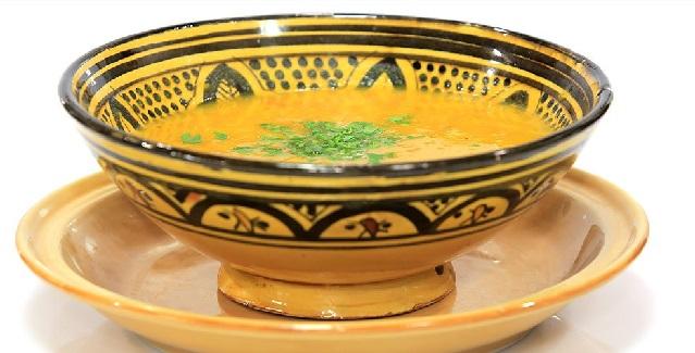 Chorba aux légumes à la Marocaine