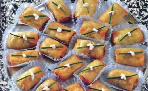 Cigares de Brick au thon et pommes de terre