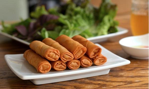 Cigares aux Crevettes et fromage
