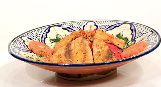 Couscous Algérien au poisson