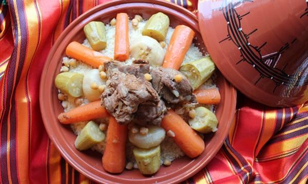 Couscous Algérois sauce blanche