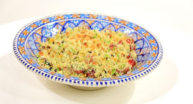 Couscous aux fruits sec