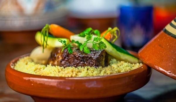 Couscous berbère à la queue de boeuf- Ibrine