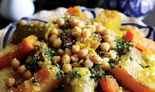 Couscous au boeuf et aux légumes