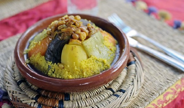 Couscous ibrine à la queue de boeuf