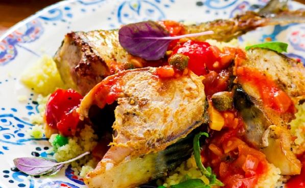 Couscous au poisson à la Tunisienne