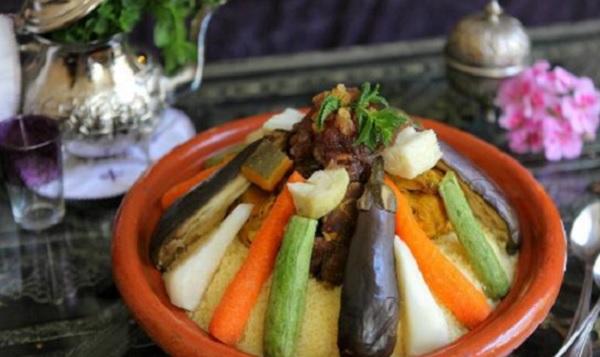Couscous à la viande et légumes