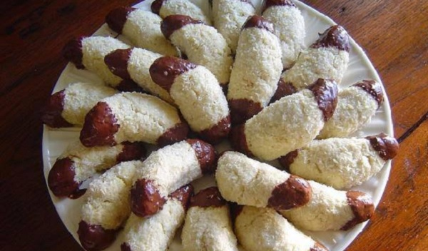 Croissants à la noix de coco et au chocolat