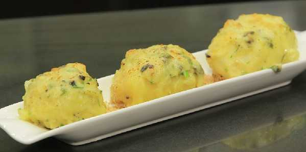 Pommes de terre farcies- Dolma batata