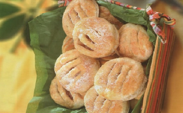 Jalousies feuilletées pommes abricots caramélisés