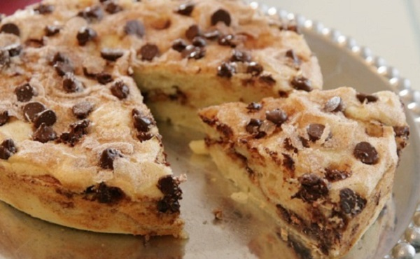 Gâteau aux pépites de chocolat