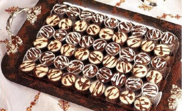 Gâteaux aux amandes et aux raisins secs