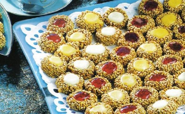 Gâteaux de cacahuètes au glaçage