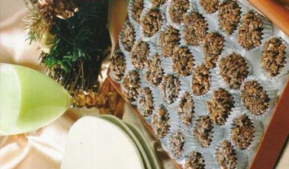 Gâteaux de corn flakes au chocolat
