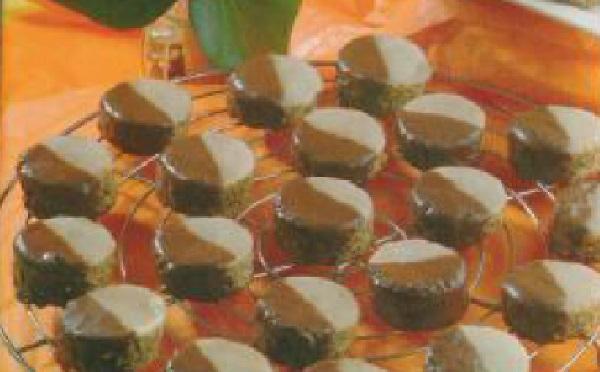 Gâteaux chocolat au glaçage