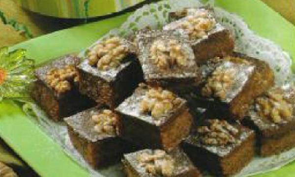 Gâteaux au chocolat et aux noix