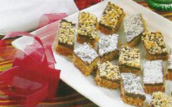 Gâteaux aux dattes et chocolat