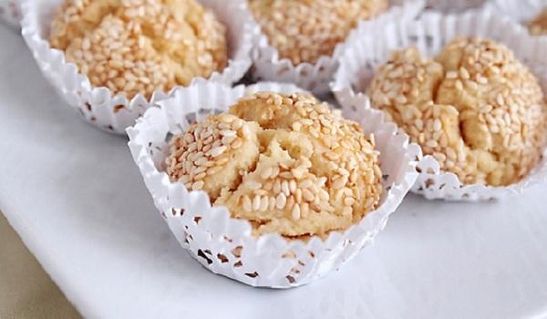 Gâteaux aux fruits secs au sésame