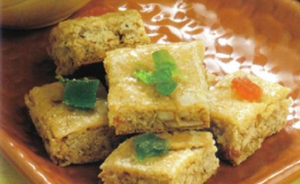 Gâteaux au miel et aux amandes