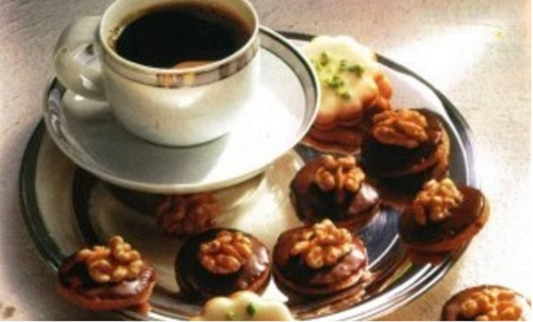 Gâteau aux noix et au chocolat