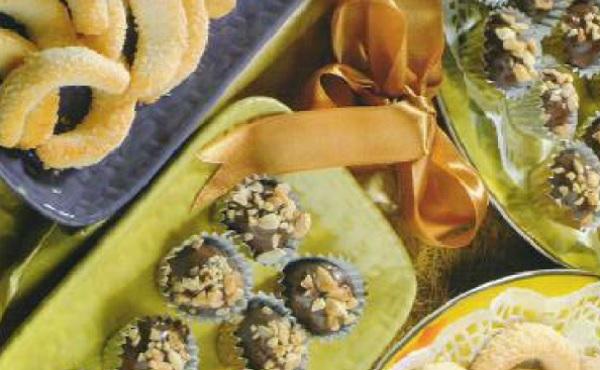 Gâteaux à la noix de coco au chocolat