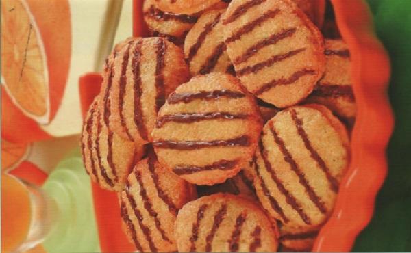 Gâteaux à l'orange et au chocolat