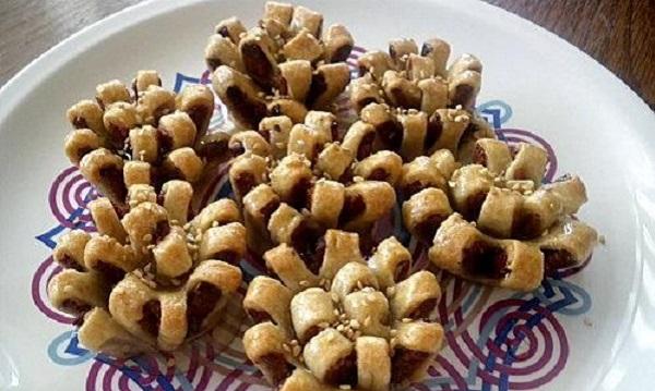 Gâteaux palmier aux dattes