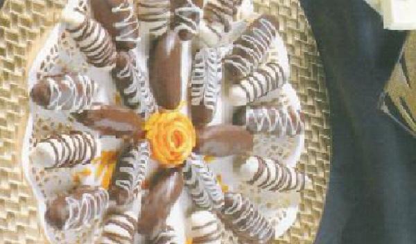Gâteaux au chocolat et à la noix de coco